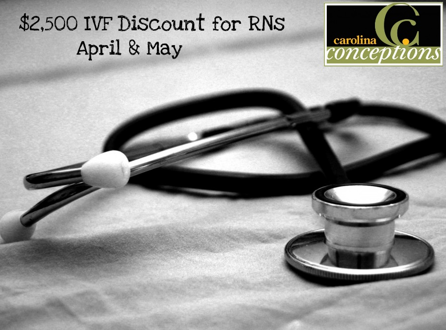 IVF Discount for RNs